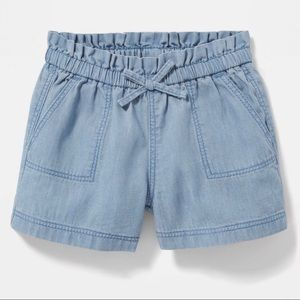 5/$25 Old Navy Chambray Pull On Shorts